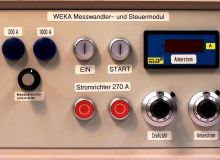 Messwandler- und Steuermodul fuer RE-POWER Pruefstand